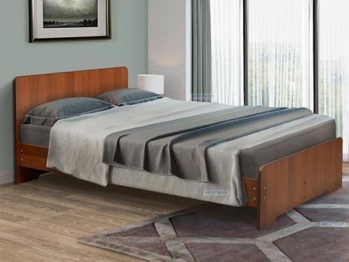 Кровать двойная на уголках No 5 Матрица