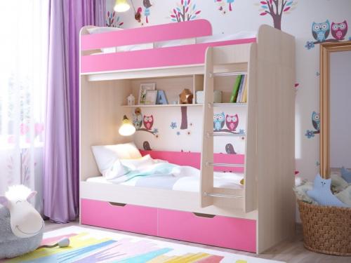 Кровать двухъярусная Юниор 5