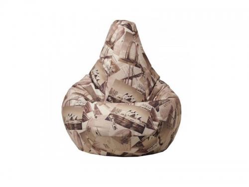 Кресло-мешок Travel Sepia