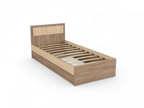 Кровать София 90 Эко с основанием