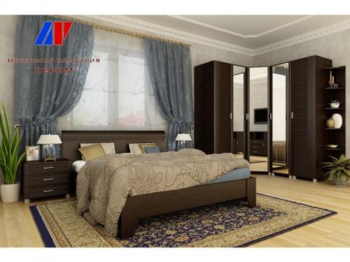 Спальня Камелия Дуб венге