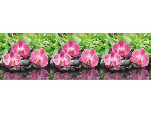 Фартук кухонный No 434 Орхидеи