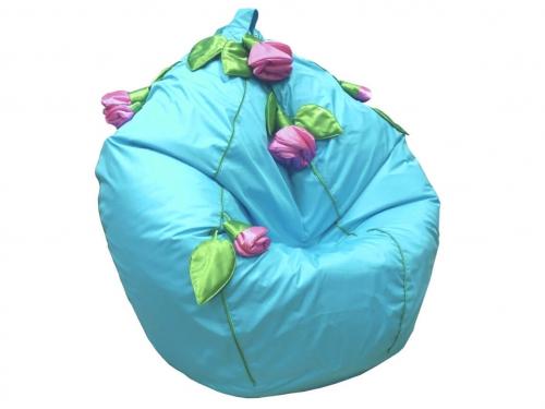 Кресло-мешок Розы нейлон