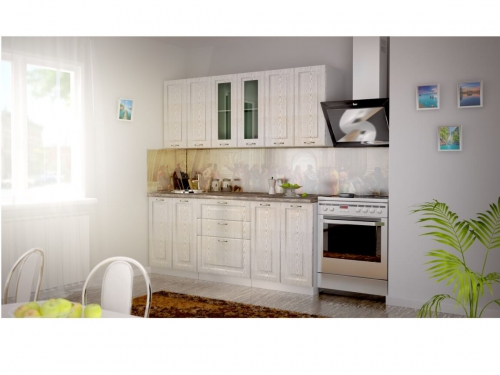 Кухня Патина золото