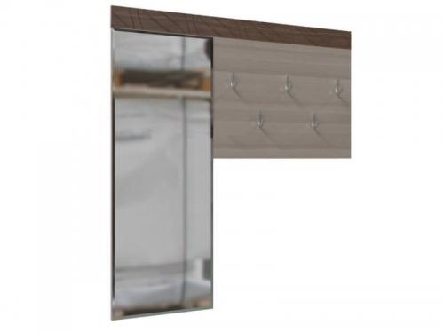 Вешалка с зеркалом Трио 2-38-12