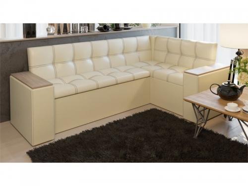 Кухонный диван со спальным местом Остин Светлый